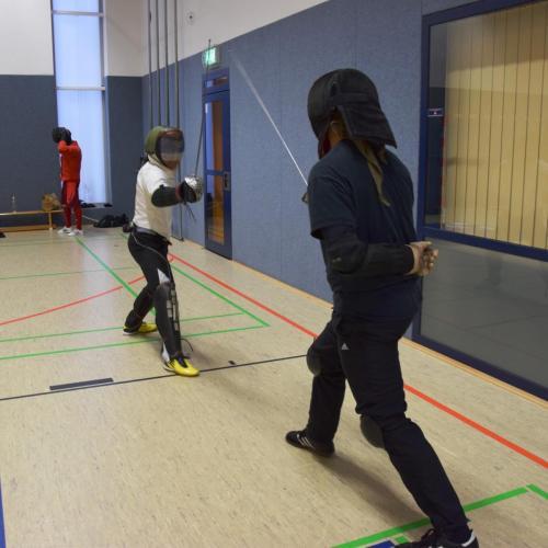Training Säbel